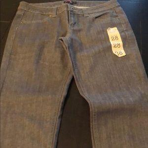 Gray jeans